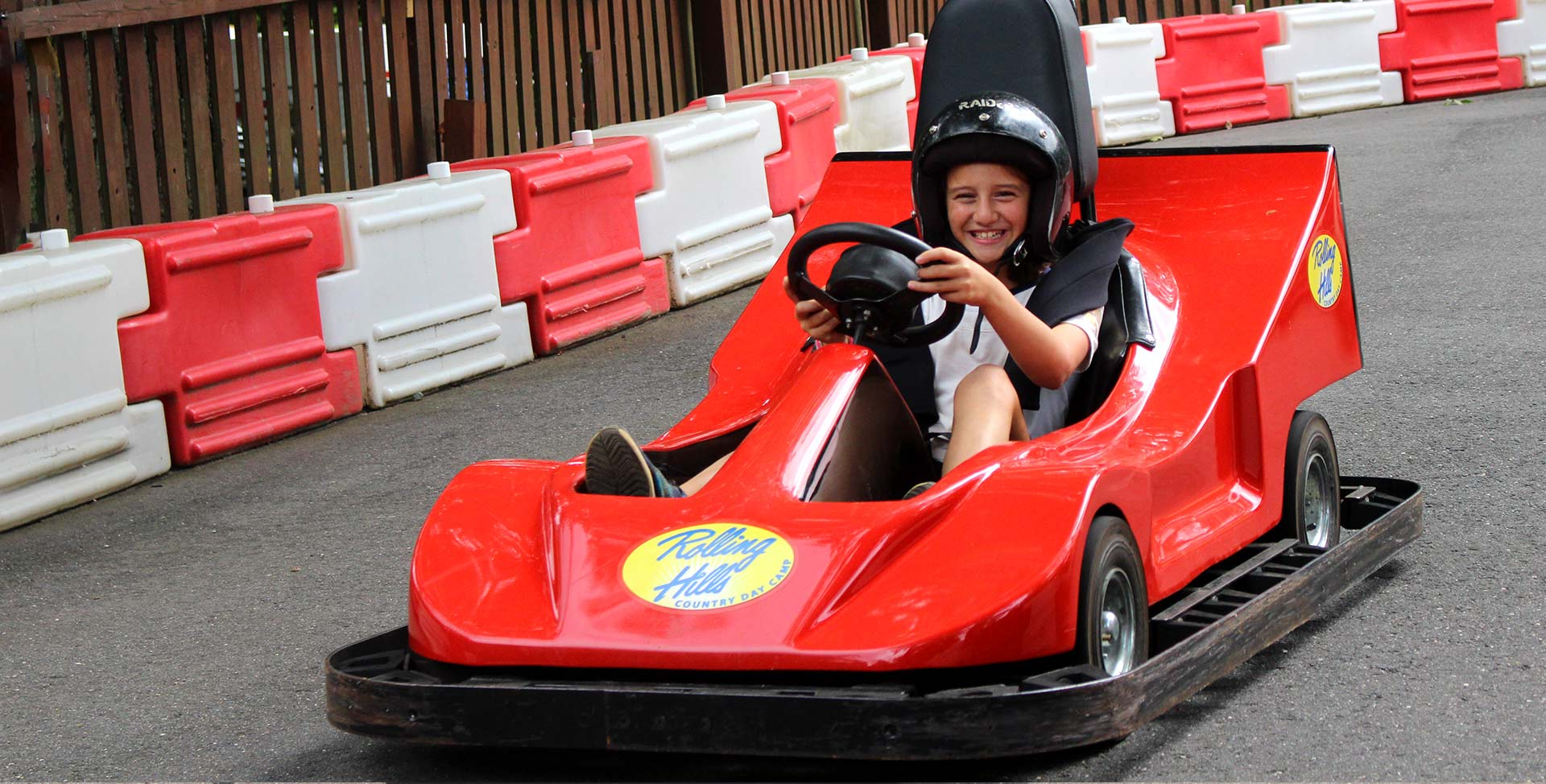Go Karts at Rolling Hills Adventure Program